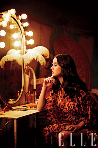 Katy Perry Photoshoot for the March 2011 Issue of Elle Magazine
