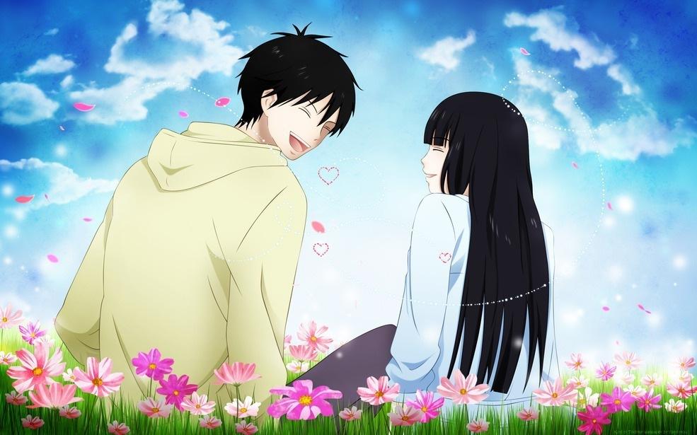 أنمي رومانسي صور أنمي رومانسي Kazehaya-Sawako-kimi