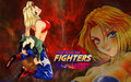 Kof Blue Mary - the-king-of-fighters wallpaper