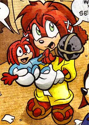 Lara-Le holding Kneecaps