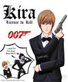 Licence to kill - anime fan art