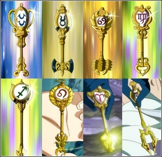 Fairy Tail fond d'écran entitled Lucy zodiac keys