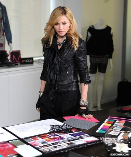 "Madonna 2010 photos from the ""Material Girl Collection"""