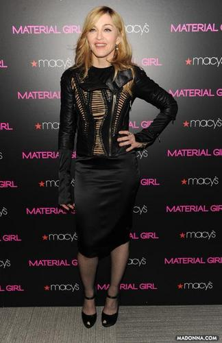 """Madonna 2010 photos from the """"Material Girl Collection"""""""