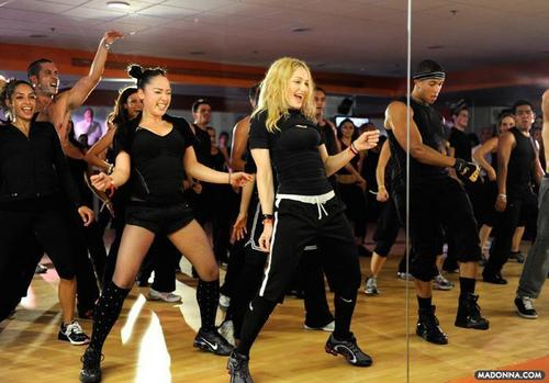 """Madonna @ Mexico City for the 2010 """"Hard Candy"""" Fitness Launch"""