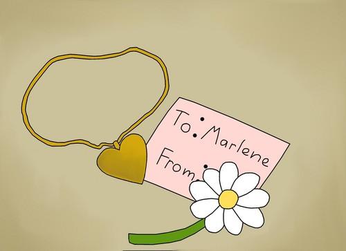 Marlene's Secret Admirer!
