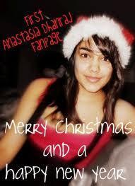 Merry navidad and a Happy New año