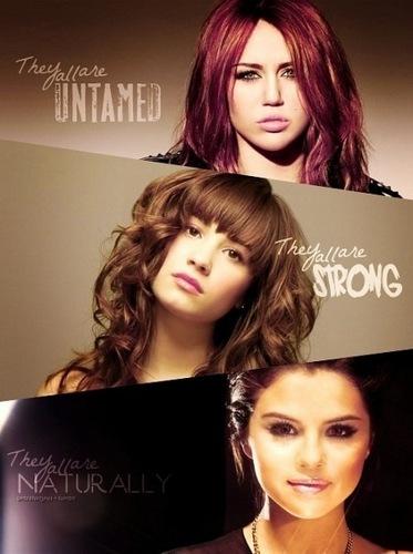 Miley Demi Selena