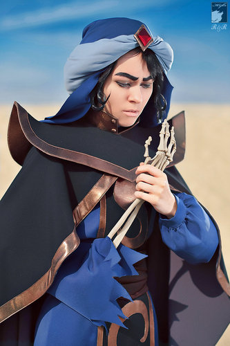 Mozenrath cosplay