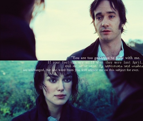 Pride and Prejudice wallpaper containing a portrait entitled Mr. & Mrs. Darcy