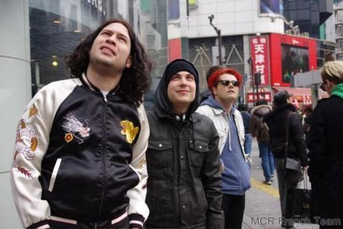 My Chemical Romance at Japan