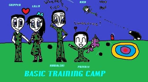 My humanization attempt!!! Pom- basic training camp!