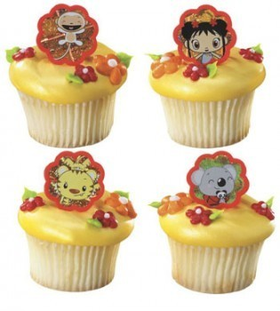 Ni Hao, Kai-Lan cupcake, kek cawan Rings