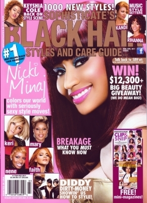 Black Hair Magazine on Nicki   Black Hair Magazine  February 2011    Hq   Nicki Minaj Photo