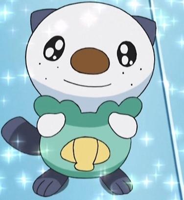 Pokemon Hintergrund entitled Oshawott