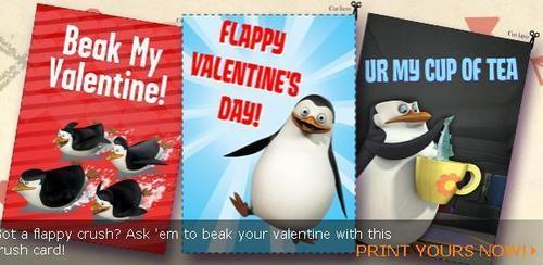 پینگوئن, پیںگان Valentines! (Hidden Skilene?)