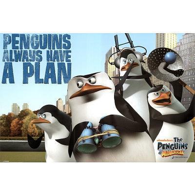 Penguins always have a plan
