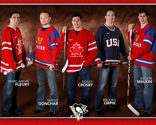 Penguins in the 2010 Winter Olympics