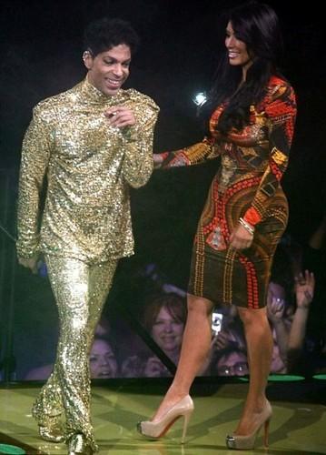 Prince and Kim