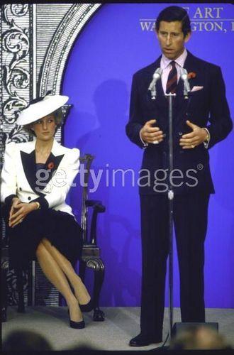 Princess Diana at National Gallery