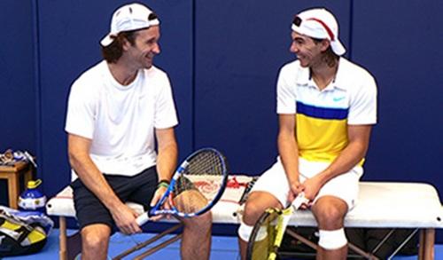 Rafael Nadal and Carlos Moya: Friendship is more than love !!!