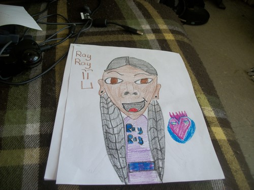 Ray Ray Drawing  - mindless-behavior Photo