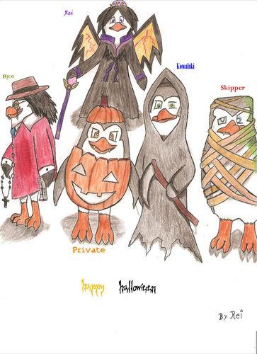 a halloween ibong dagat draw