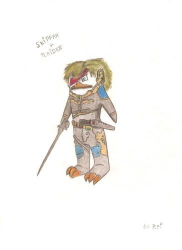 skipper + raiden [Metal gear 4]