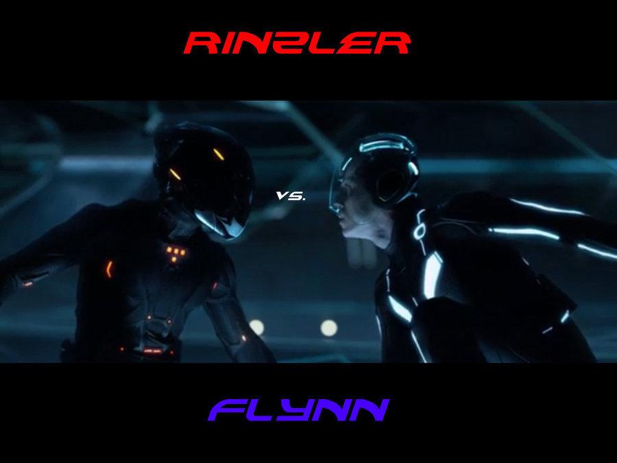 Tron Legacy Fond Decran Entitled Rinzler Flynn