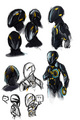 Rinzler Sketches - rinzler fan art