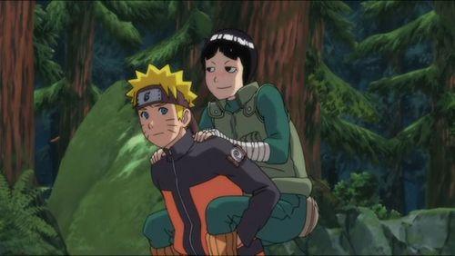 Rock and Naruto