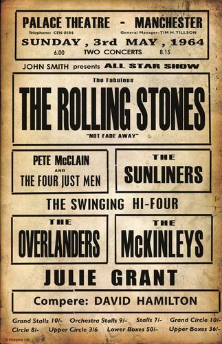 Rolling Stones Vintage Poster