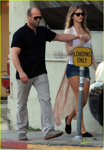 Rosie Huntington-Whiteley & Jason Statham: রান্নাঘর Lovers!