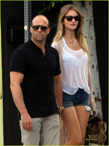 Rosie Huntington-Whiteley & Jason Statham: küche Lovers!