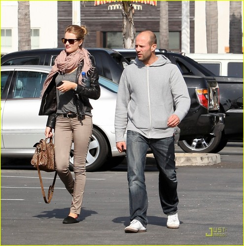 Rosie Huntington-Whiteley & Jason Statham: Malibu Mates