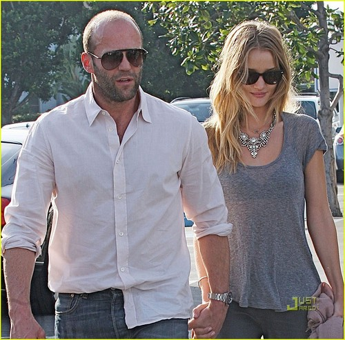 Rosie Huntington-Whiteley & Jason Statham: Sheer Saturday