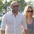 Rosie Huntington-Whiteley & Jason Statham: Sheer Saturday - jason-statham photo