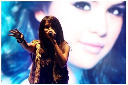 Selena Gomez Chile concert+Soundcheck