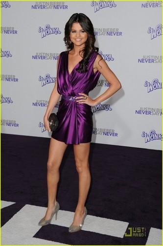 Selena Gomez Never say Never Premiere