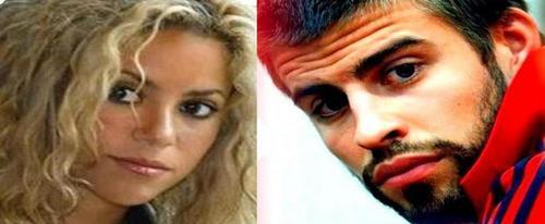シャキーラ and Gerard are look alike !