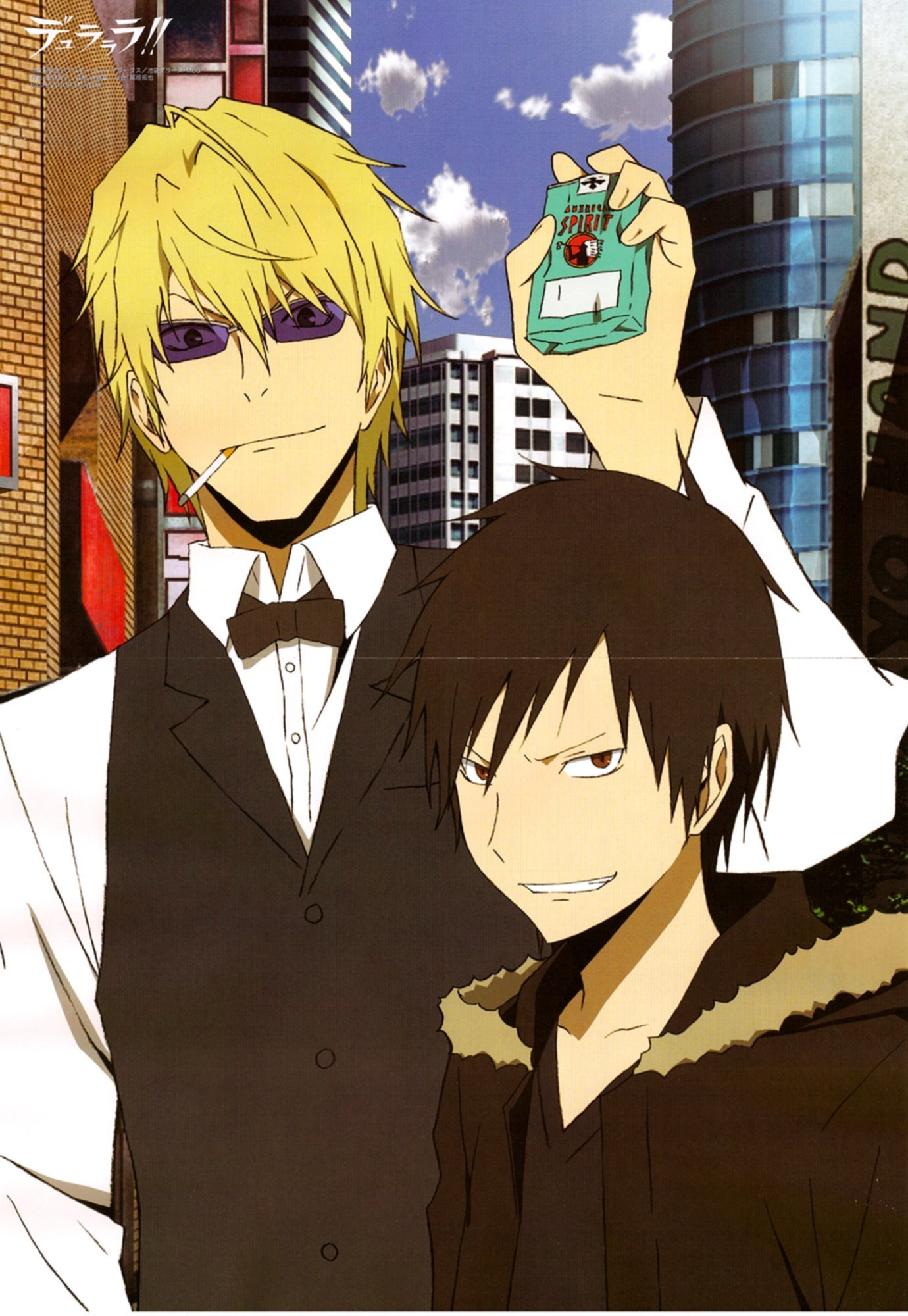Let's talk Character Design Shizuo-and-Izaya-anime-guys-19102468-1380-2000