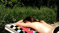 Sunbathing - christina-perri photo