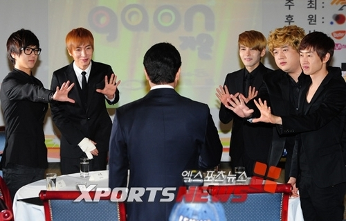 Super Junior at 2010 Gaon Chart Awards