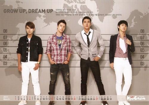 Super junior - Kyochon 2011 Calendar