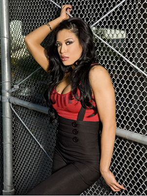 Melina Perez Hintergrund with a chainlink fence called Sweetmelina <3