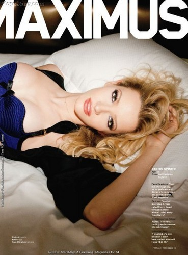 Talulah for Maxim Magazine (February 2011)
