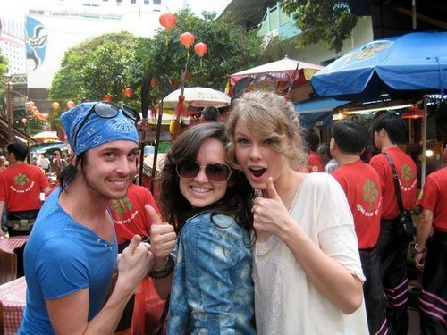Taylor in Chinatown, Singapore