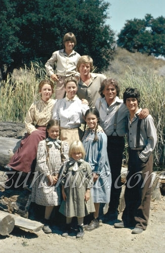 The Ingalls' family with James & Cassandra