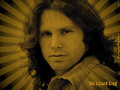 The Lizard King (gold) - the-doors wallpaper