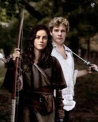 The official Hunger Games Cast members for Katniss and Peeta-Kaya Scodelario and Alex Pettyfer
